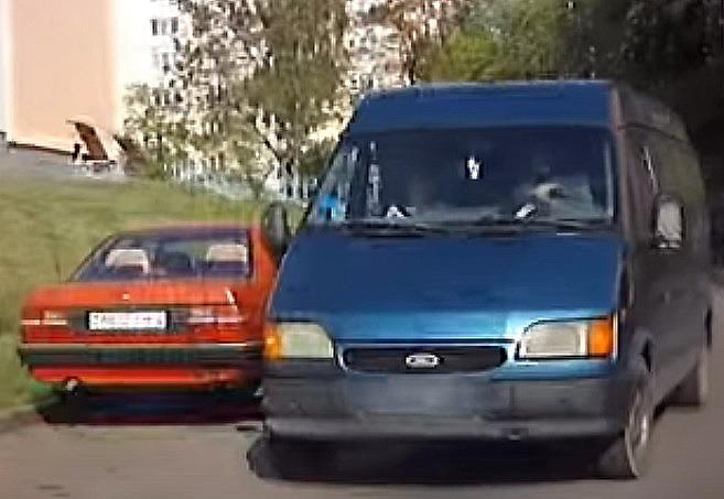 В Гродно нетрезвый бомж угнал автомобиль