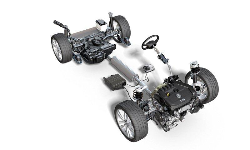Новый Volkswagen Golf освоит технологию мягкого гибрида