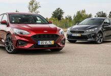 Ford Focus vs Kia Ceed