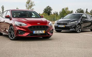 Ford Focus vs Kia Ceed