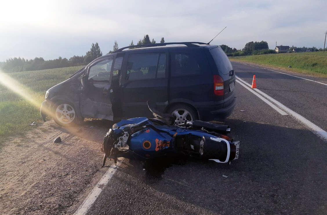 В Оршанском районе в ДТП погиб мотоциклист