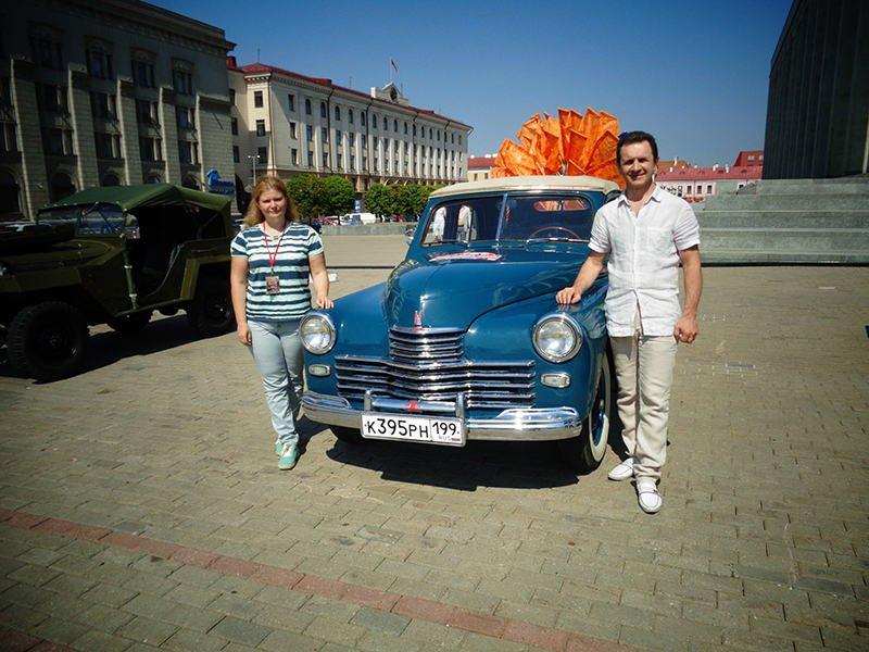 Экипаж из Москвы Александр Баль и Ольга Алсараева