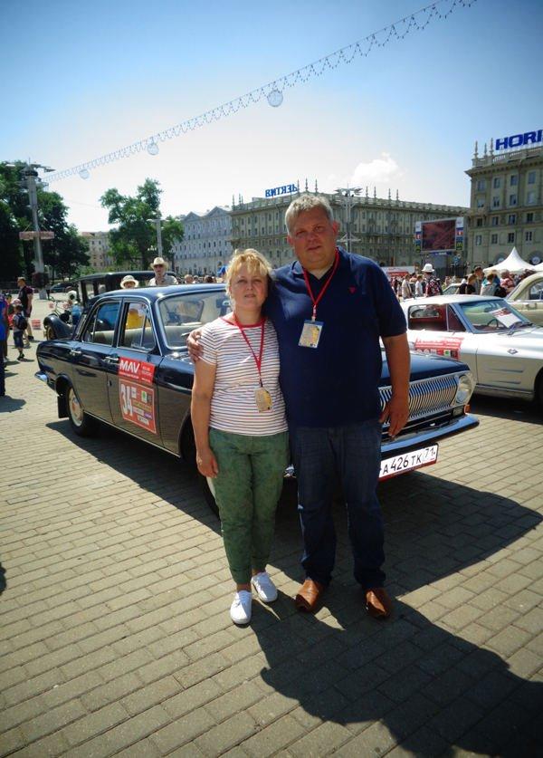 Россияне Наталья и Илья Крючковы