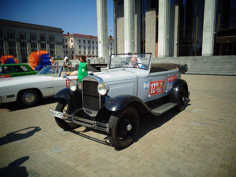 Один из старейших ретро автомобилей ГАЗ-А