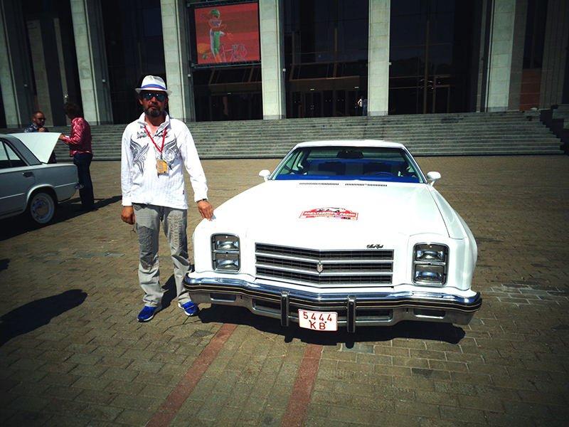 Александр Шурин и его Chevrolet Monte Carlo