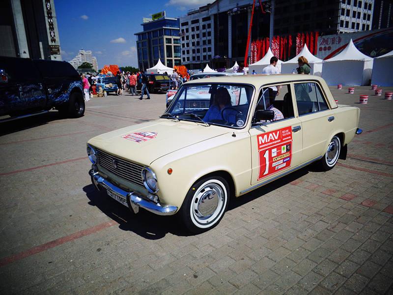 ВАЗ-2101 под первым стартовым номером