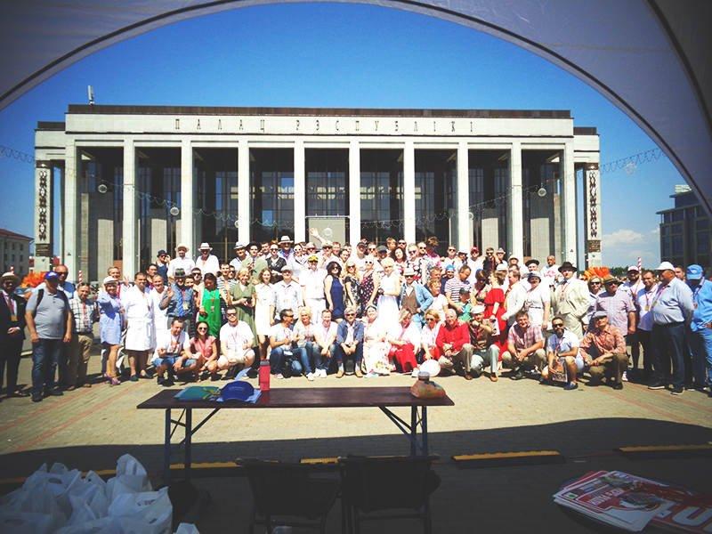 Общее фото всех участников