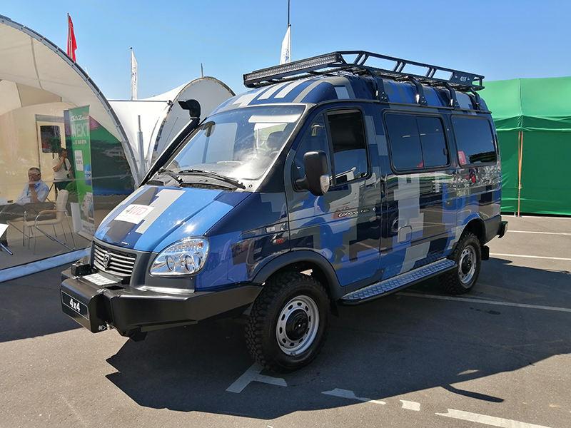 Рамный внедорожник Соболь Бизнес 4WD ГАЗ-27527