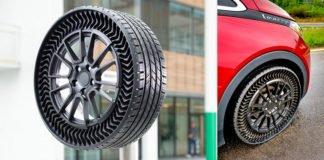 Мишлен и General Motors представляют безвоздушные шины