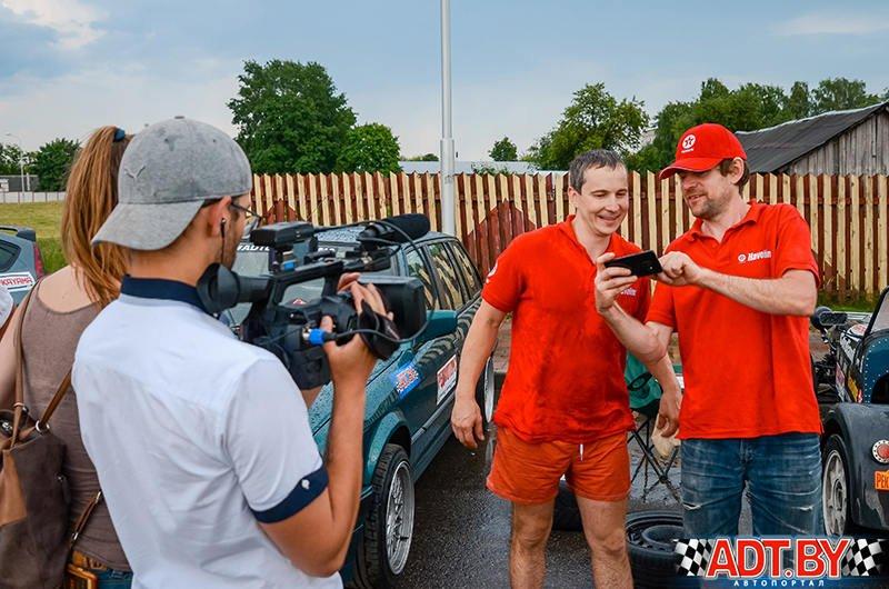 3-ий этап кубка «Виртуозов руля» - 2019 по джимхане в Молодечно