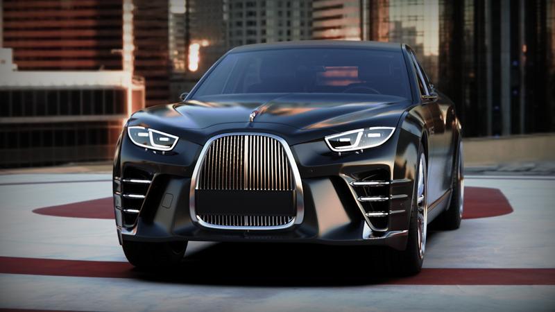 Российский дизайнер создал современную версию лимузина ЗИС-110