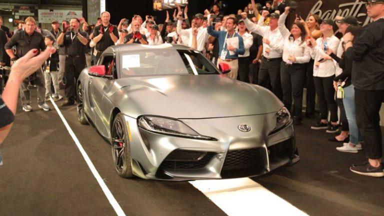 Первый экземпляр Toyota Supra продан по цене десяти новых Ferrari