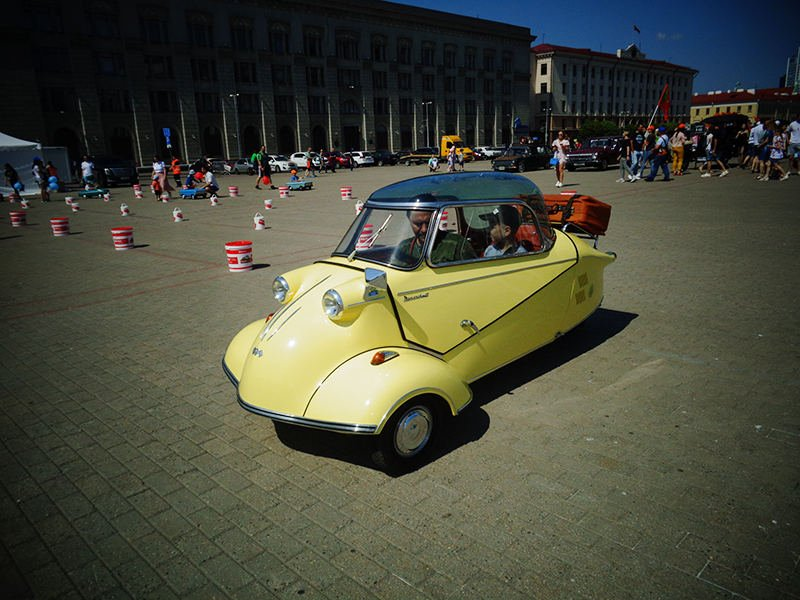 Катание на автомобиле Messerscmitt