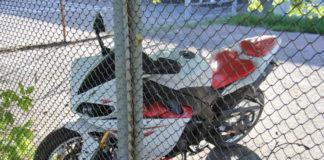 В Гомеле мотоциклист-бесправник спровоцировал погоню