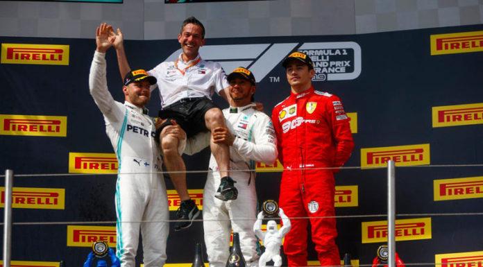 Подиум Гран-при Франции-2019