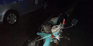 Пьяный мотоциклист-бесправник пытался скрыться от ГАИ