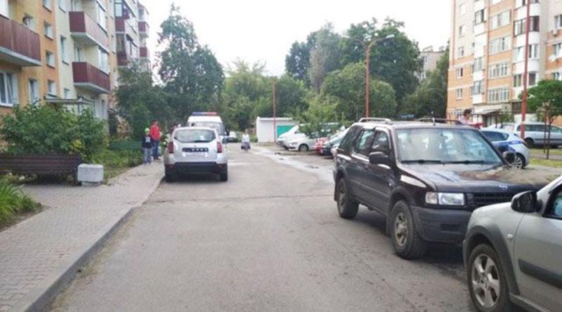 В Бресте во дворе сбита 10-летняя девочка