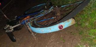В Островецком районе сбит насмерть велосипедист