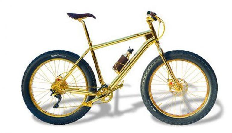 Изготовлен велосипед стоимостью 1 миллион долларов