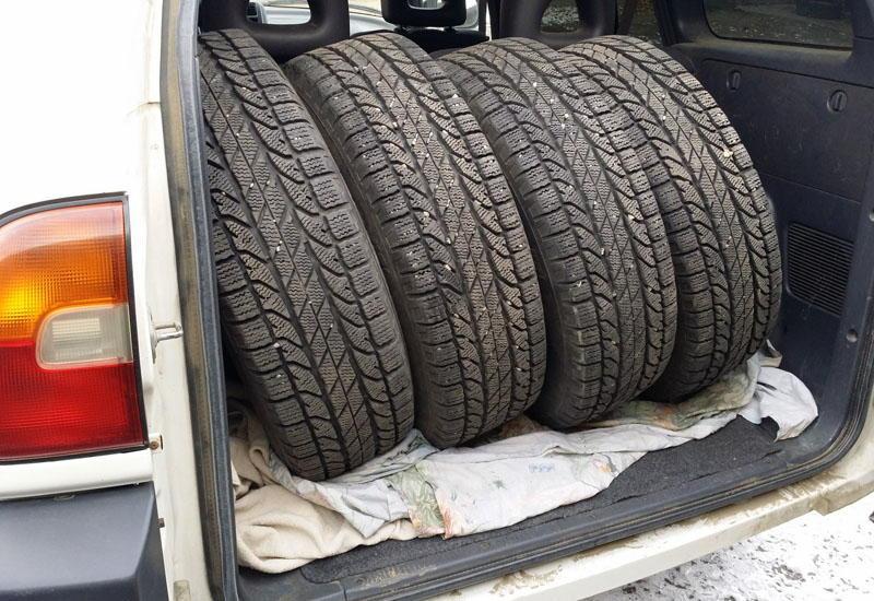 Б/у шины отнесены копасным отходам