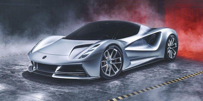 Lotus выпустит мощнейший на рынке электрокар