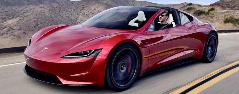 В 2020 году Tesla покажет гиперкар, работающий на ракетном топливе