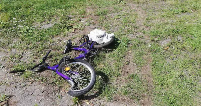 Водитель ВАЗа допустил наезд на 7-летнего ребенка с велосипедом