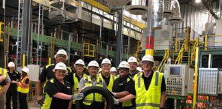 На шинном заводе NOKIAN TYRES в США произведены первые тестовые шины