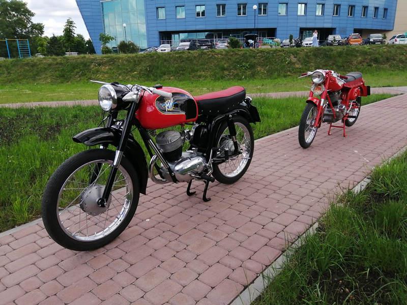 Выставка ретро мототехники