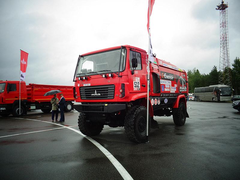 Спортивный грузовик МАЗ-5309RR