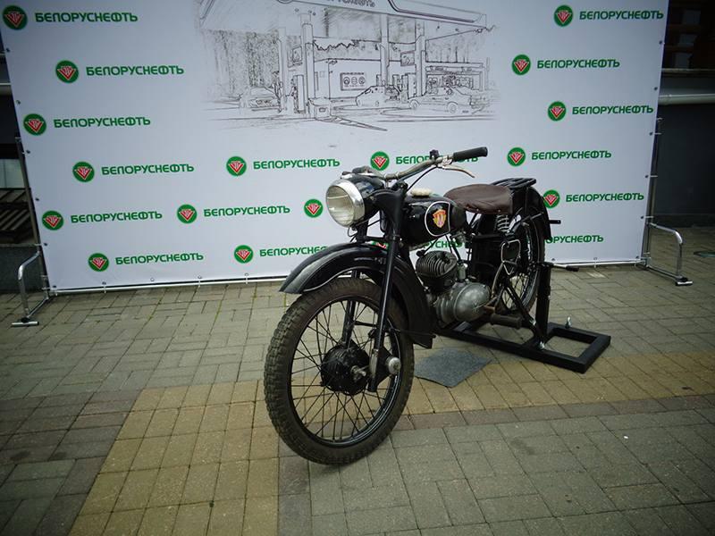 """Выставка ретро-мотоциклов """"Большой юбилейный год"""""""