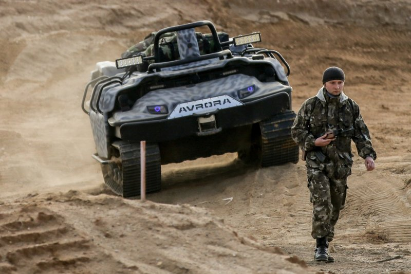 Беспилотная военная техника: проект «МАРС»