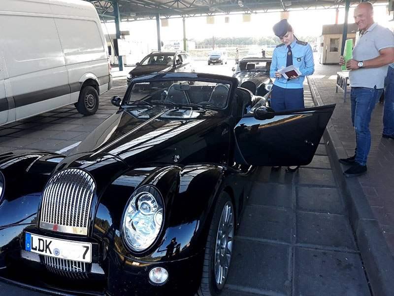 Автомобили-участники фестиваля SunDay пересекли границу РБ
