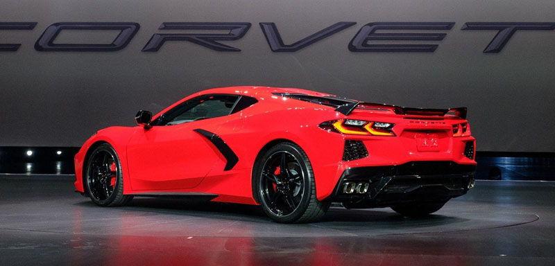 Подробности Chevrolet Corvette 2020