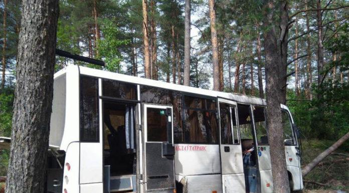 Водитель рейсового автобуса умер за рулем