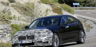 BMW 5-серии готовится к рестайлингу