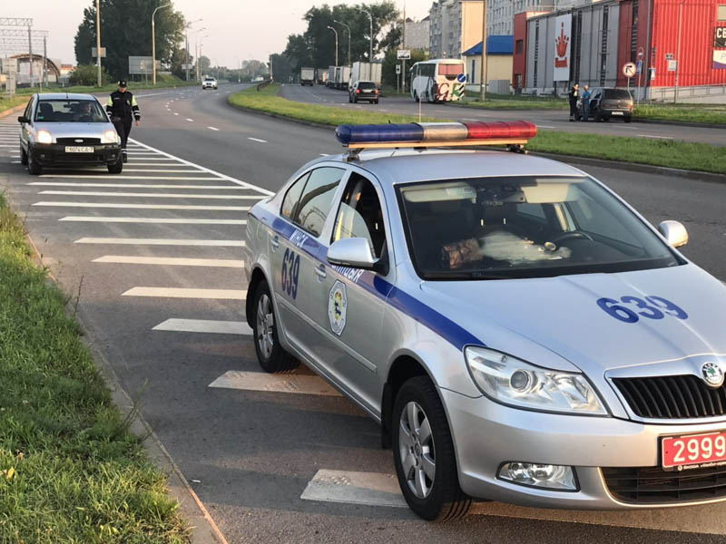 Cотрудники столичной Госавтоинспекции проводили мероприятия, направленные на пресечение грубых нарушений ПДД