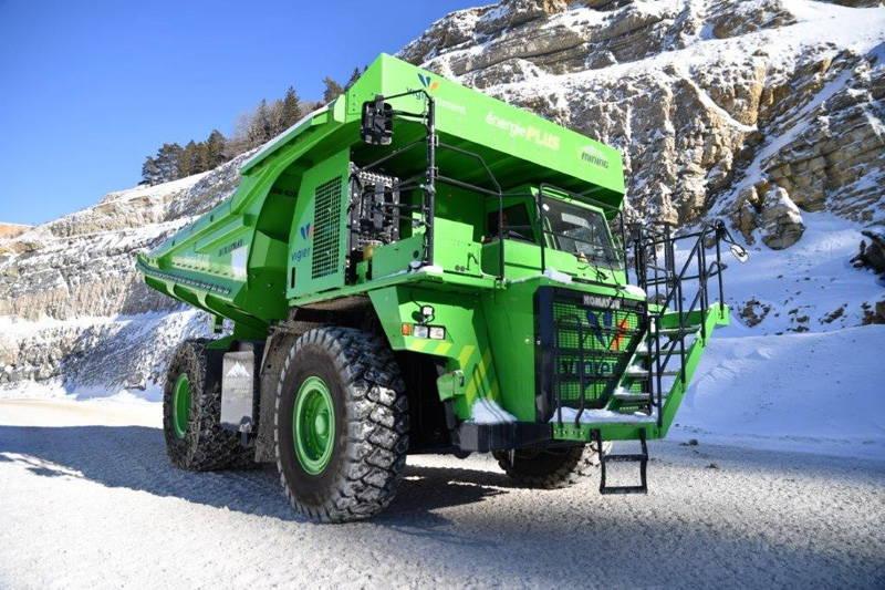 Cамый большой в мире электромобиль – карьерный самосвал e-Dumper