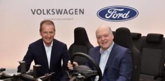Ford и Volkswagen создали новый альянс