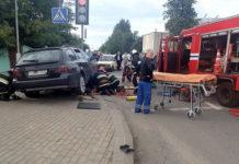 На тротуаре в Бобруйске сбита женщина
