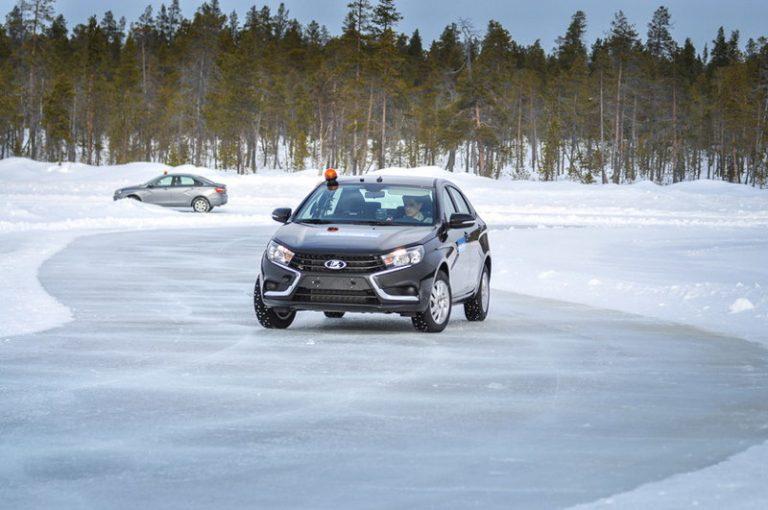 Lada Vesta непригодна для теста резины Nokian