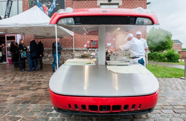 Необычный подход к автотехнике дизайнера Бенедетто Буфалино