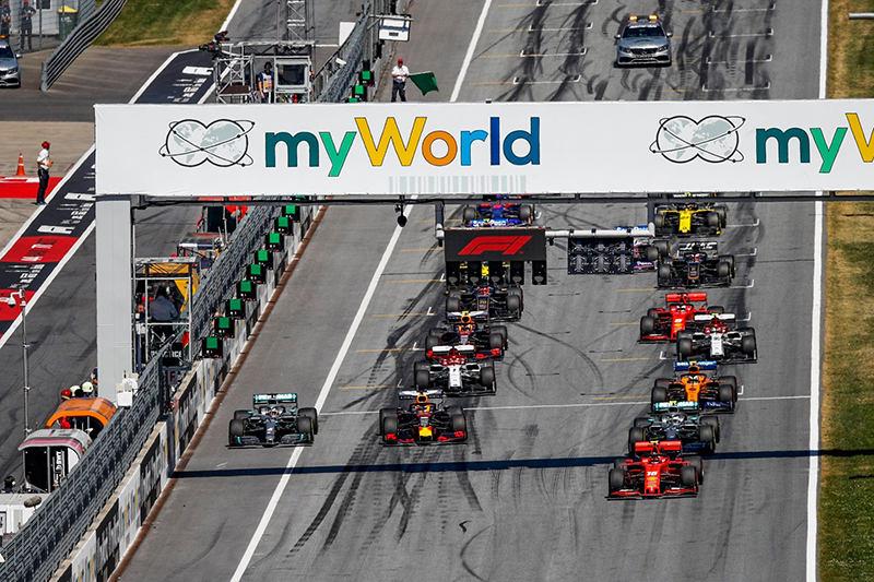 «Формула-1»: Гран-при Австрии. Honda обставила Mercedes и Ferrari