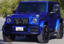 Арабы превращают Suzuki Jimny в Mercedes-AMG G 63