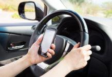 Телефонные разговоры за рулем опасны