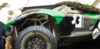 Мировая премьера на Фестивале скорости в Гудвуде: электрический SUV для серии Extreme E, оснащенный шинами Continental