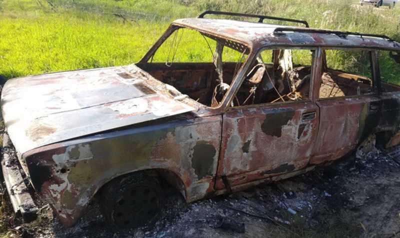 Двое могилевчан угнали и сожгли «Жигули»