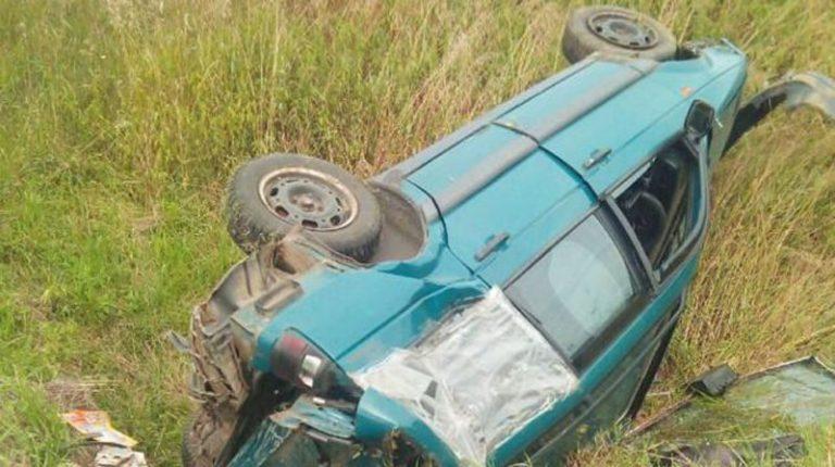 В Столбцовском районе пьяный мужчина угнал автомобиль и угодил в кювет.