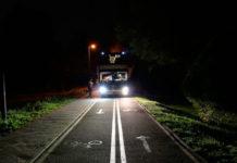 В Минске пьяный водитель автобуса катался по велодорожке