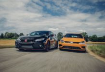 Honda Civic Type R vs Volkswagen Golf R